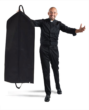 Breathable Clergy Garment Bags