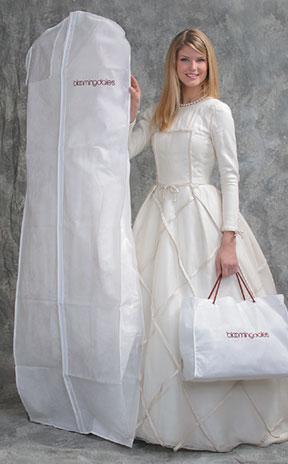 Basic Ltd Breathable Bridal Dress Garment Bags Printed