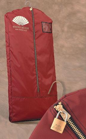 Basic Ltd Lockable Hotel Casino Garment Bags Uniform